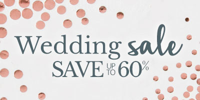 Wedding Sale Save Up to 60%