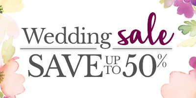 Wedding Sale Save Up to 50%