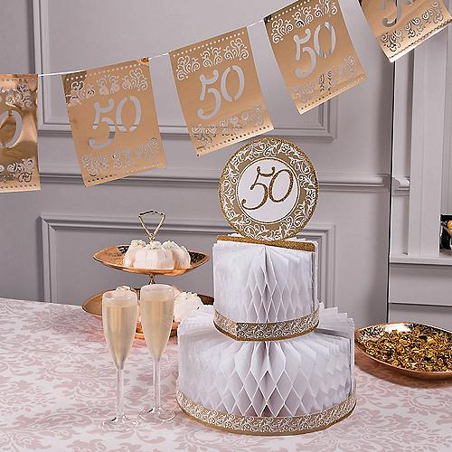Table decorations for silver anniversary for 25 anniversary decoration ideas