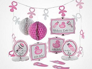 Baby Shower Party Favors Ideas Girl baby shower party supplies & decorations | oriental trading