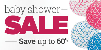 Baby Shower Sale - Save up to 60%