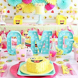 Girly Emoji Birthday Party
