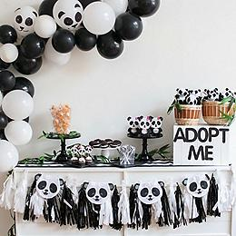 Throw A Panda Themed Party