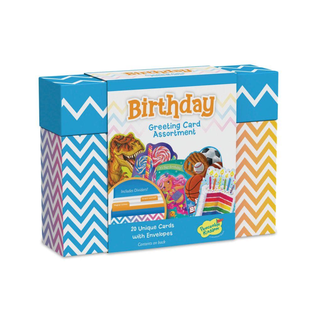 Birthday Card Assortment Box From MindWare