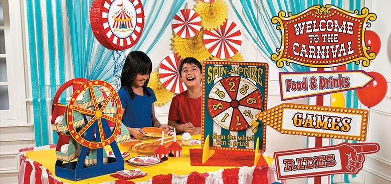 garage dance party ideas - Carnival Theme Party Supplies Birthday Ideas Carnival