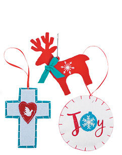 Christmas Ornaments starting at 26¢ per piece!