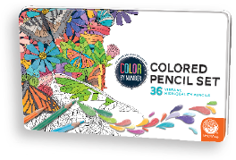 Numbered Colored Pencils - 36 count