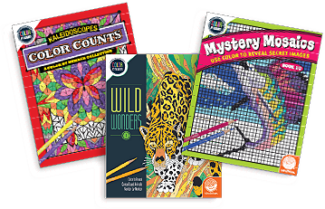 Creative Activities - Numbered Coloring Books