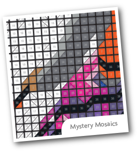 Color by Number - Mystery Mosaics Set