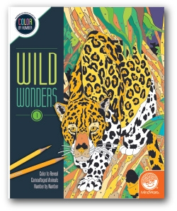 Wild Wonders - Color by Number Book 1