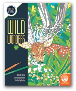 Wild Wonders - Color by Number Book 2