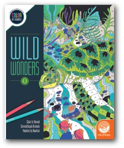 Wild Wonders - Color by Number Book 3
