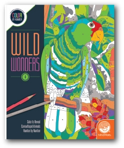 Wild Wonders - Color by Number Book 4