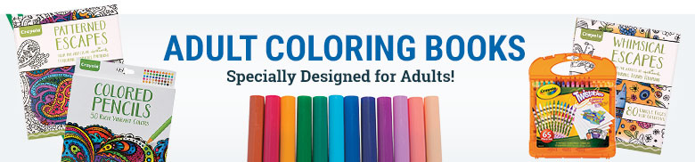 Adult Coloring Books - Specially Designed for Adults!