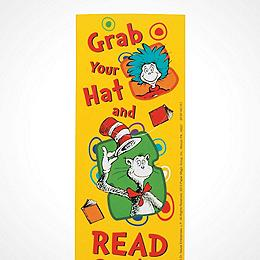 Dr. Seuss? Grab Your Hat Bookmarks