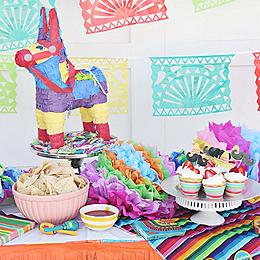 Ideas Baby Shower Mexicano.Fiesta Themed Party Orientaltrading Com