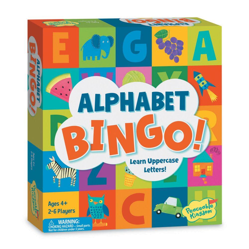 Alphabet Bingo Board Game From MindWare