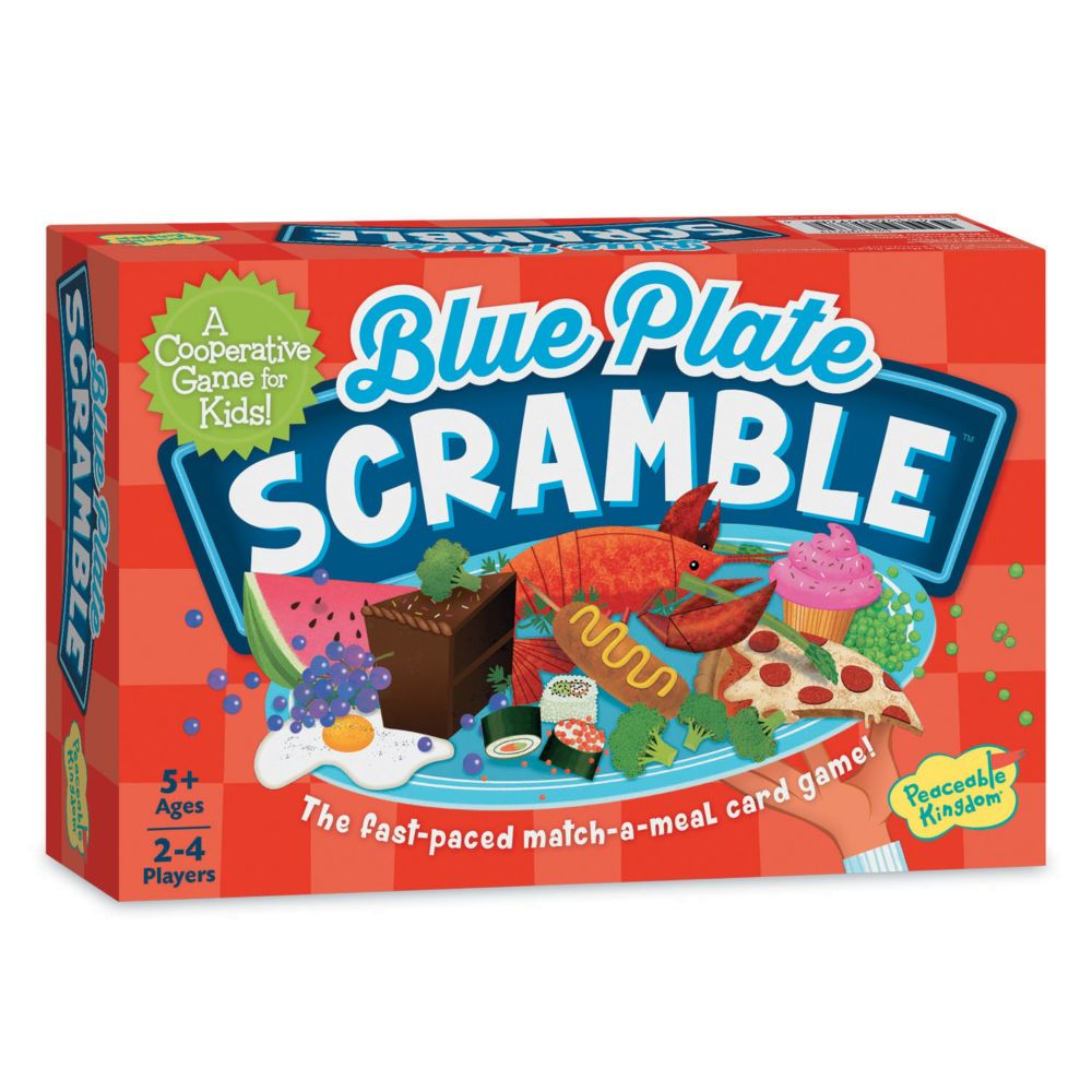 Blue Plate Scramble From MindWare