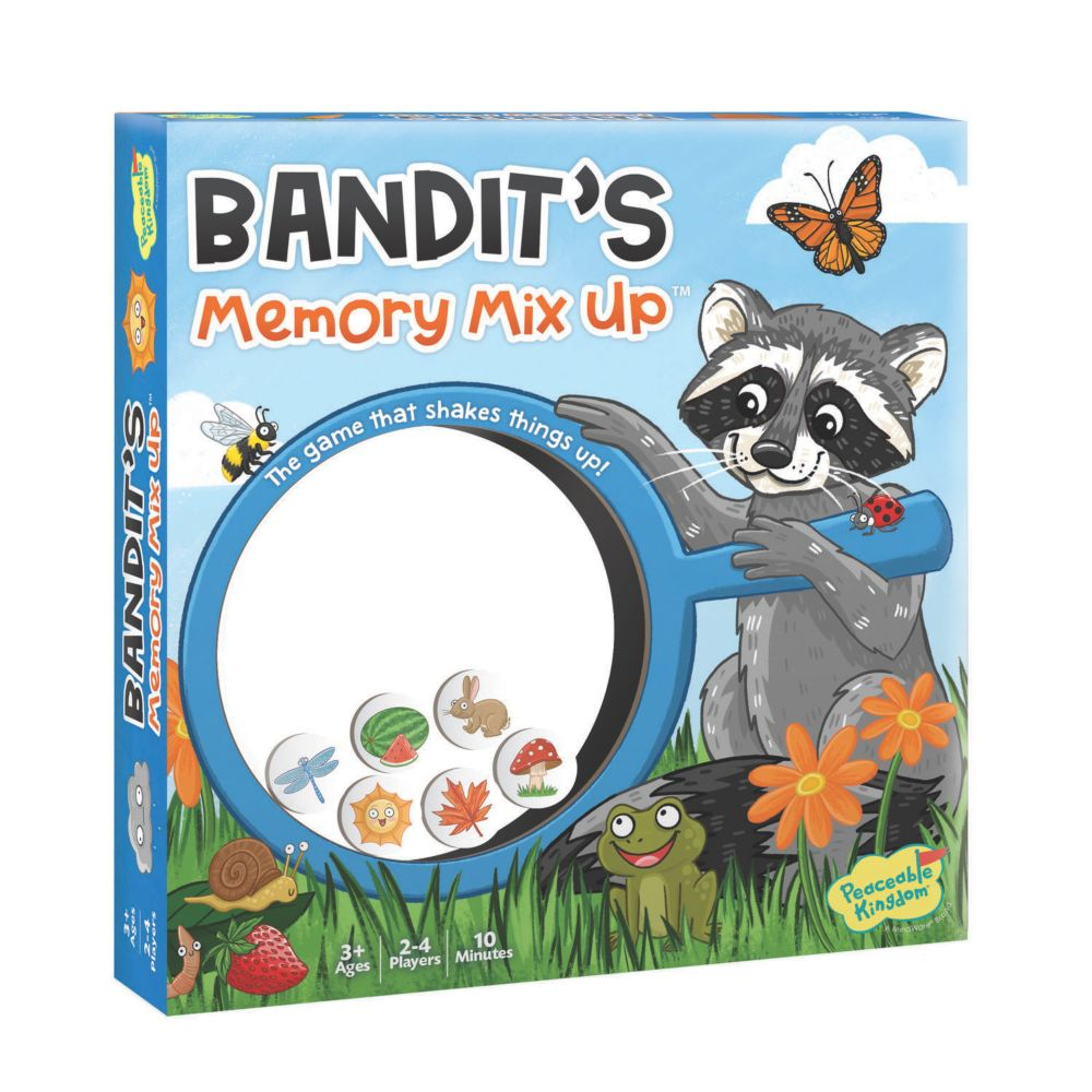 Bandits Memory Mix Up From MindWare
