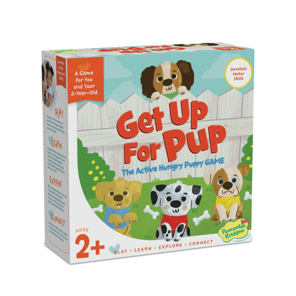 Get Up For Pup From MindWare