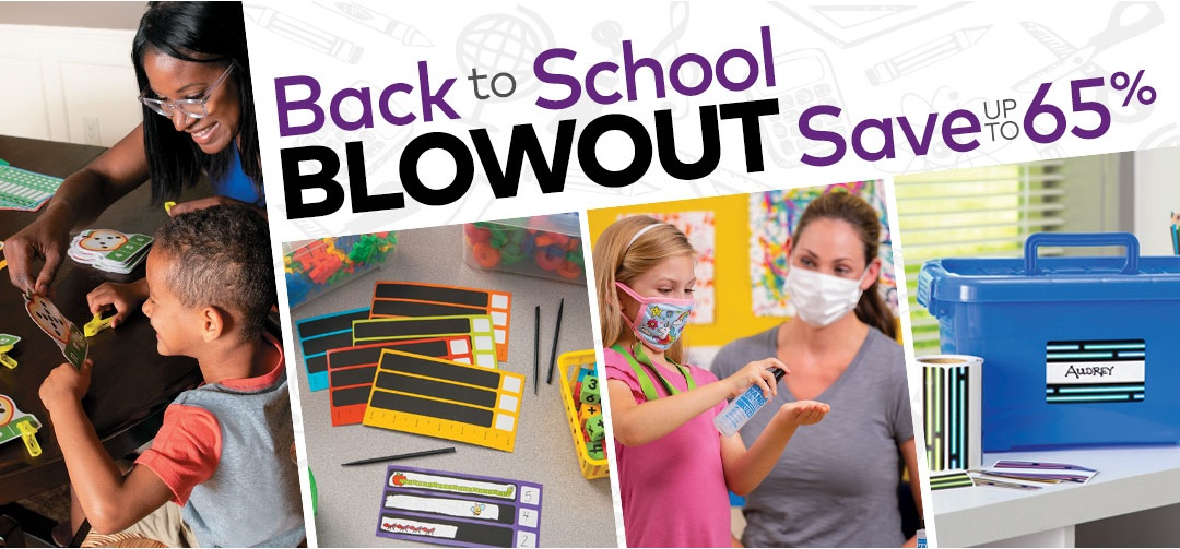 Back to School Sale Panel
