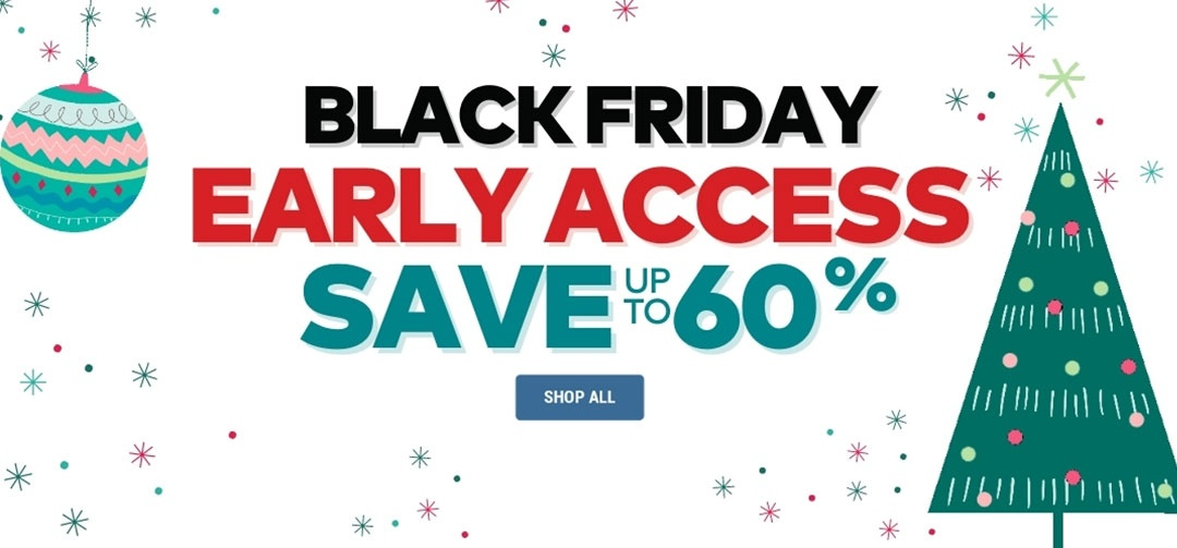 Black Friday Early Access Panel