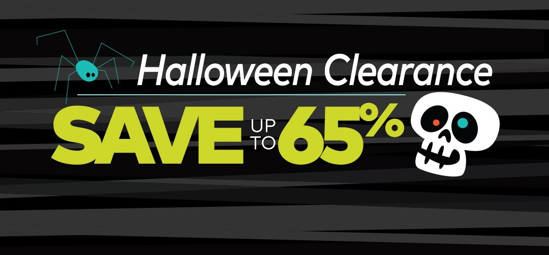 Halloween Clearance Panel