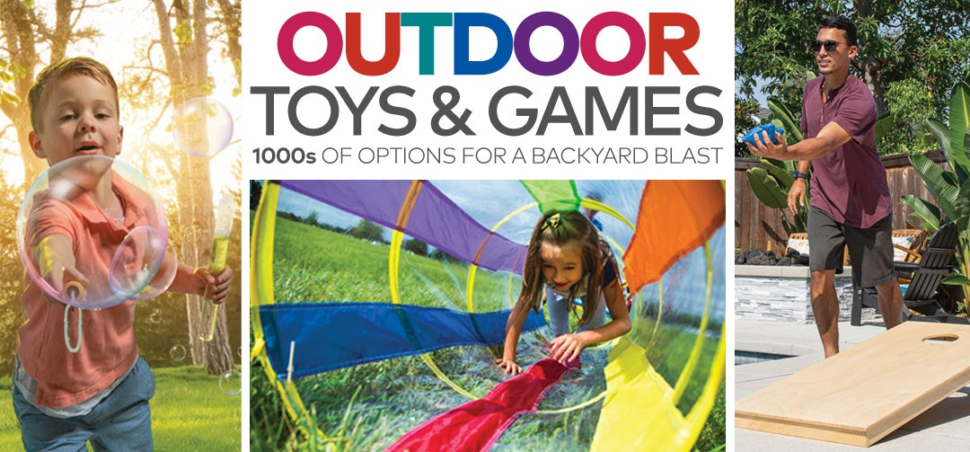 Outdoor Toys & Games Panel