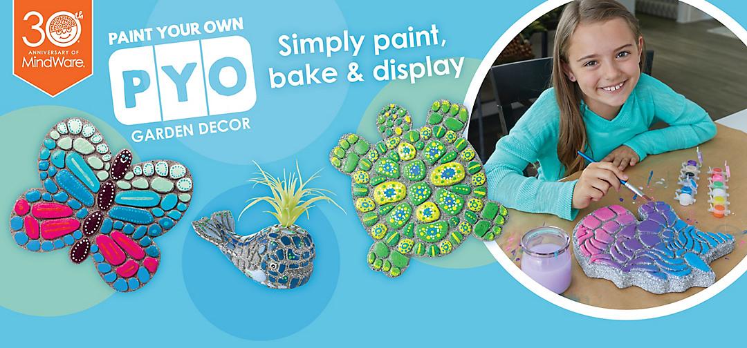Paint Your Own Stone Decor