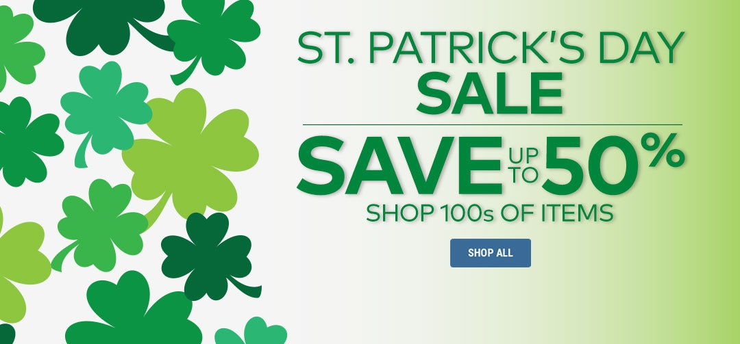 St. Patrick's Day Sale Panel