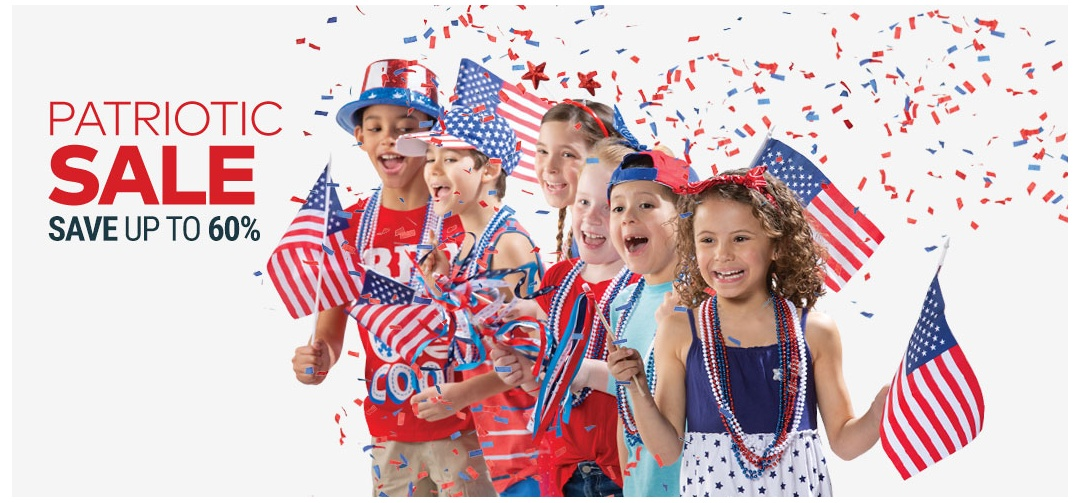 American Flags Patriotic Decorations Accessories Toys Games Candy