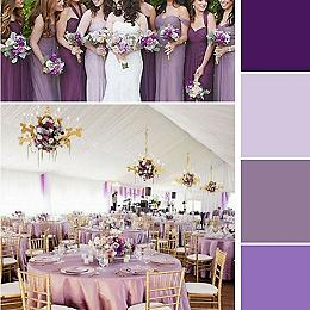 Plum Lilac Wedding
