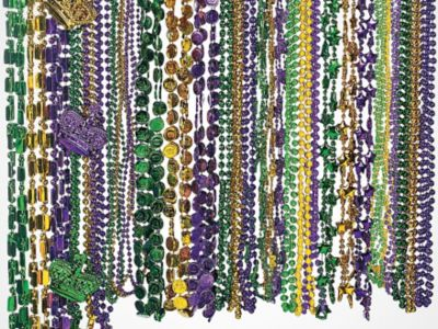 Adult bead gras light mardi up what