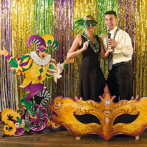 2019 Mardi Gras Decorations Party Supplies