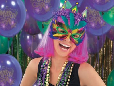 Mardi Gras Decorations  C2 B7 Starting At 16 C2 A2 Per Mask