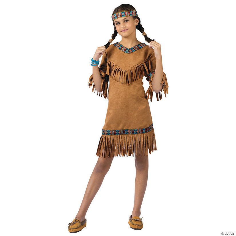 Halloween Costumes For Girls.Girl S Native American Costume