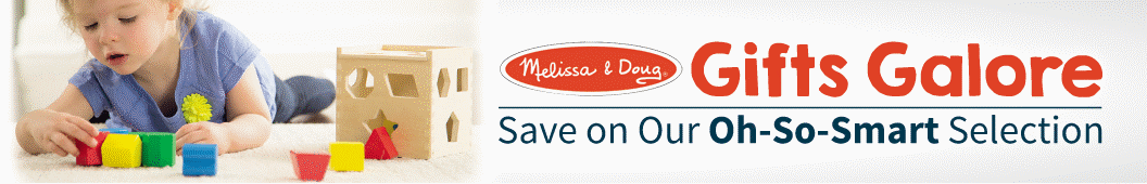 Melissa & Doug Gifts Galore - Save on our Oh-So-Smart Selection
