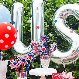 4th of july backyard bbq diy patriotic windsocks 4th of july outdoor decorations