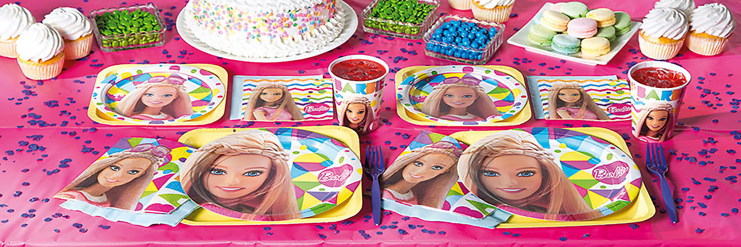 Fantastic Barbie Party Supplies Orientaltrading Com Oriental Trading Interior Design Ideas Clesiryabchikinfo