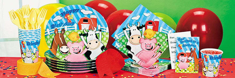 Farm First Birthday Party Supplies Oriental Trading