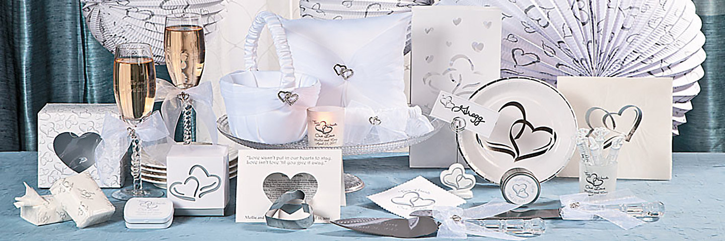 Two Hearts Wedding Collection  Oriental Trading