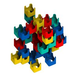 Q-BA-MAZE Bold Color Set - Castle