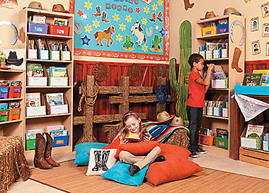 Classroom Library Reading Corner Themes Ideas Supplies Oriental