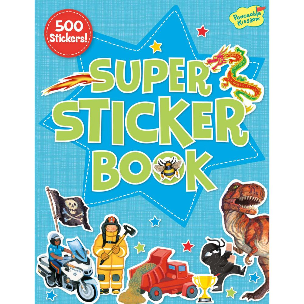 Action Sticker Activity Book From MindWare