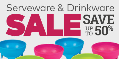 Serveware & Drinkware Sale. Save up to 50%