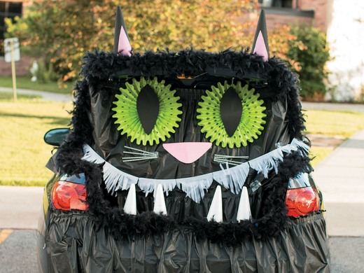 Trunk Or Treat Decorating Ideas For Cars Trucks Oriental