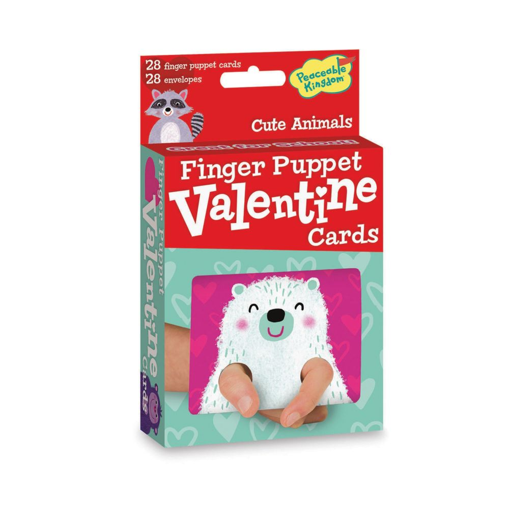 Cute Animals Finger Puppets From MindWare