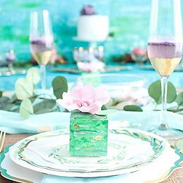 Spring Watercolor Wedding Ideas